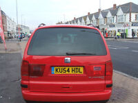 SEAT ALHAMBRA STYLANCE TDI (red) 2004