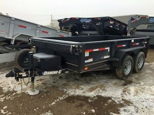 2017 Diamond C 46ED Dump Trailer