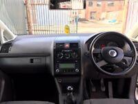 VW TOURAN 1.9 TDI SE PD DIESEL 7 SEATER 75K MILEAGE ONLY