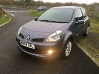 *REDUCED* 2007 RENAULT CLIO 1.4 DYNAMIQUE S IN GREY TOP OF THE RANGE (like Fiesta Corsa Polo 207)