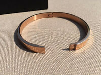 New Fifth NYC Rose Gold Plated Love Bangle