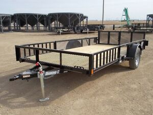2017 Diamond C 2PSA-L14x83 Utility Trailer