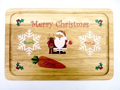 Father Christmas Eve Snack Plate  - Santa Treats Tray / Board / Platter](Halloween Snack Platters)
