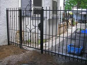 Wrought Iron Fences Gates Railing Wheelchair Ramps Etc Fence Deck Rai