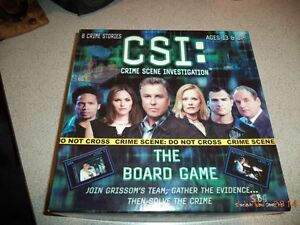 CSI  The Board Game