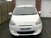 £0 ROAD TAX,2014 MITSUBISHI COLT MIRAGE 1.2, GENUINE 29000 MILES, MOT AUG 2018, FULL SERVICE HISTORY
