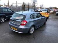 2006 BMW 116i 5 DOOR PETROL MOT SPARES OR REPAIRS PROJECT