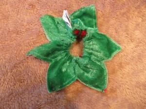 Dog Clothing - Red and Green Neck Flower or Band Strathcona County Edmonton Area image 2
