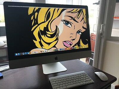 "Apple 27"" iMac 5K Retina Core i7 4GHZ 16GB RAM - 3TB FUSION - 4GB GRAPHICS  WOW! segunda mano  Embacar hacia Mexico"