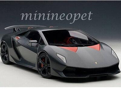 AUTOart 74671 LAMBORGHINI SESTO ELEMENTO 1/18 DIECAST MODEL CARBON FIBER GREY 18 Autoart Diecast Model