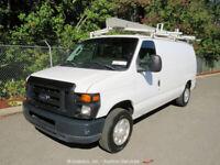 2009 Ford E-150 Utility Cargo Work Van 5.4L V8 Automatic A/C bidadoo