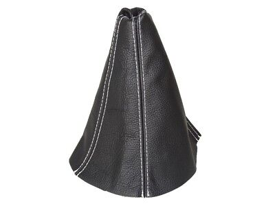 Shift Boot For Kia Sportage 2004-2010 Leather Grey Stitching