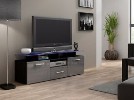 modern high gloss tv stand display cabinet wall unit tv stand
