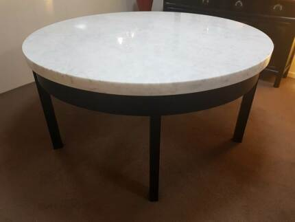 Large Solid Marble Table