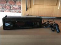 Kenwood Bluetooth car radio