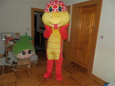Christmas Snake Mascot Costume Cartoon Animals Cosplay Adults Parade Fancy - Christmas Parade Kostüm