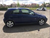 Vauxhall Corsa 1.8 SRI•Low Miles•10 stamps of history• golf polo Astra Clio focus punto fiesta