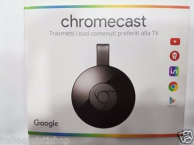 Google Chromecast 2 Streaming Multimediale USB Netflix Youtube HDMI WIFI HD