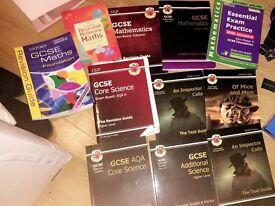 GCSE bundle of books