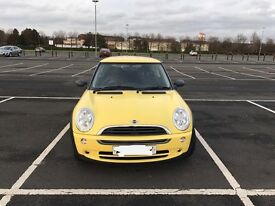 Loving Owner Wanted, Yellow Mini One, Full Service History
