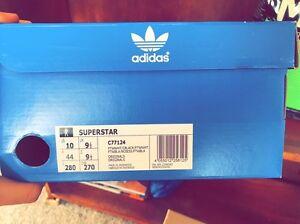 Adidas Superstar-Unisex Size US 10 Lidcombe Auburn Area Preview