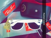 Rayban wayfarer shiny mint red sunglasses aviator clubmaster free loc del