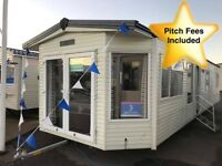 Static Caravan For Sale East Yorkshire 12ft Wide Central Heated Double Glazed 3 Bedroom Heated