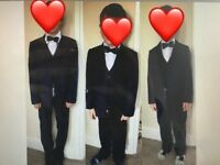Boys suits with next shirts
