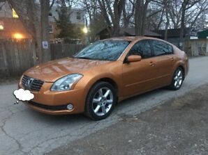 2004 Nissan Maxima 2 sets of rims tires fully loaded $4700