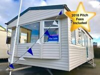 Static Caravan For Sale Yorkshire East Coast Not Haven 12 Month Season 2018 Pitch Fees Included