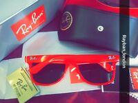 Rayban Wayfarer aviator clubmaster men's women's sunglasses new box bag bargain quality