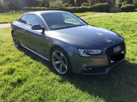Audi A5 Coupe Daytona Grey Black Edition