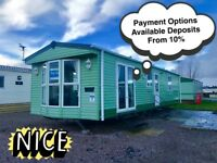 Static caravan for sale North West England Not Wales Near Lancaster Lakes 12 Month Park Not Haven