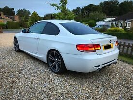 BMW 335d 3 Series Coupe. Alpine White. Very Top Spec and Condition.