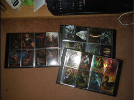 The hobbit lord of the rings trading cards cryptozoic great condition