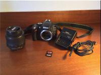 Nikon D5100 DSLR + Accessories in Excellent Condition