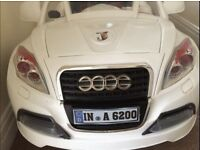 Audi Style Motor Kids 6v Electric Sports Car