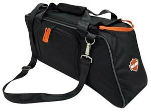 Harley-Davidson Saddlebag Utility Tote Cooler, Bar & Shield Logo, Black 439-02