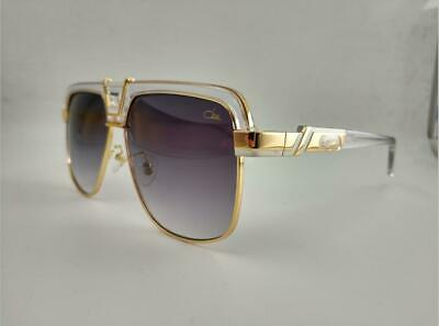 Cazal Authentic Designer Sunglasses frames Gold Grey lens (Designer Sunglass Frames)