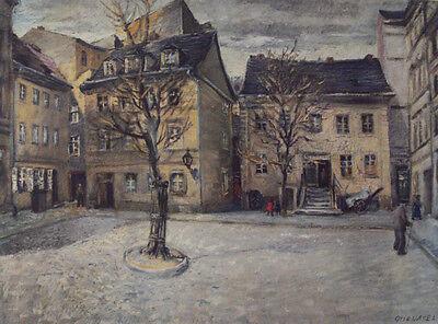 NEU Otto Nagel JÜDENHOF /Berlin Judenhof Lichtdruck Kunstdruck Judentum -RARITÄT
