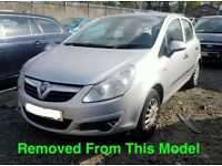 VAUXHALL CORSA 1.3 CDTI SILVER 2008 BREAKING FOR ALL PARTS