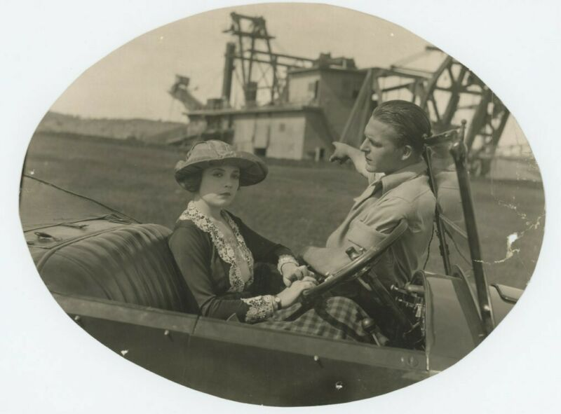 LOIS WILSON, WALLACE REID original movie photo 1920s