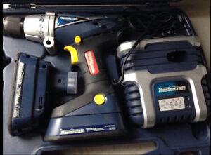 Mastercraft 18V Hammer Drill
