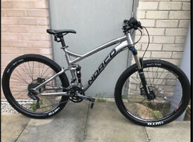 Norco fluid 7.3 full suspension mountain bike