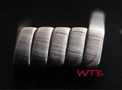SALE 2 NICHROME 10 Ply Framed Staple coils + free coils (Clapton, Alien, Twisted