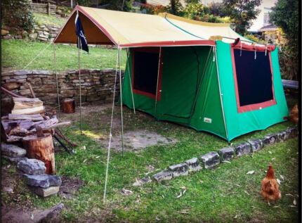 Canvas tent & CANVAS TENT | Camping u0026 Hiking | Gumtree Australia Tweed Heads ...