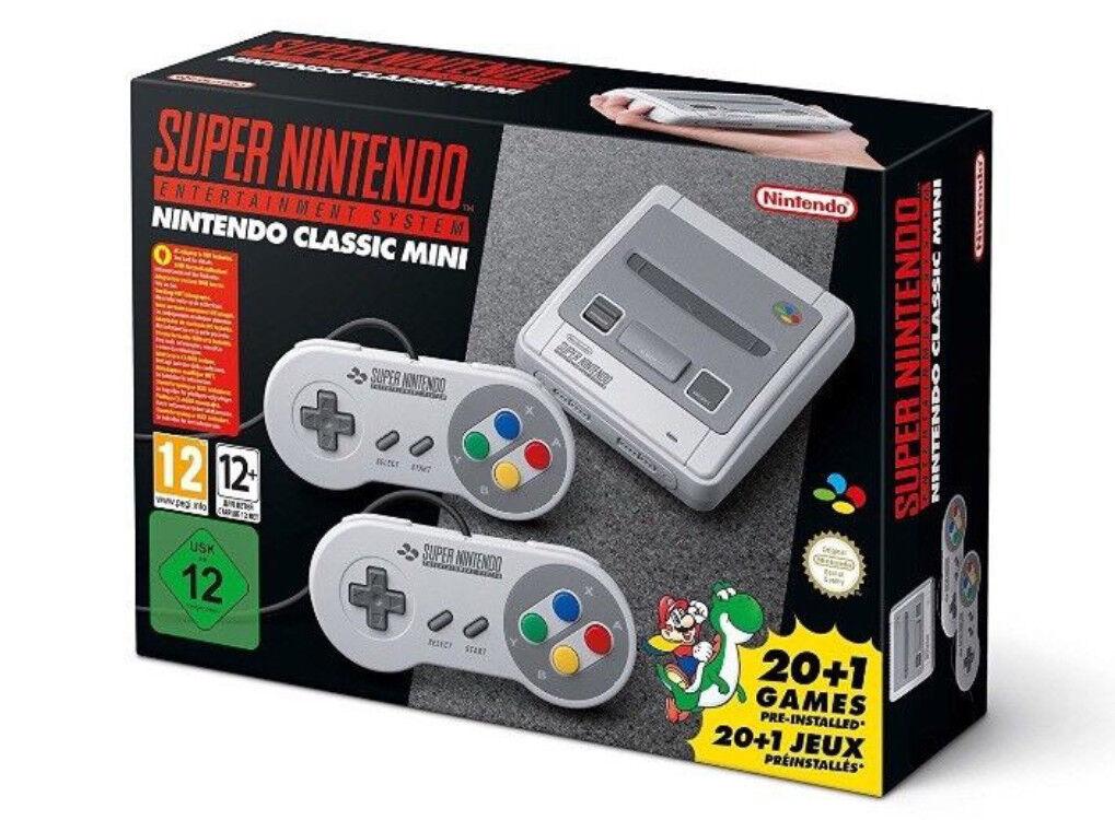 Genuine Nintendo SNES Mini - Brand New