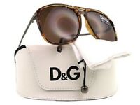 D&G Havana Men's Sunglasses