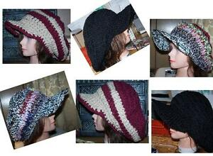 Custom Hand Knit & Crochet Hats & Apparel. Baby to XXL Adult.