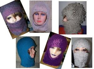 Custom Hand Knit Headwear Balaclavas Beanies Berets Ball Caps